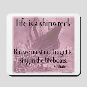 shipwreck2 Mousepad