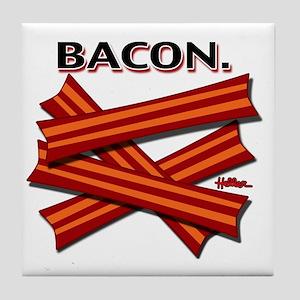 bacon-cap-2011b Tile Coaster