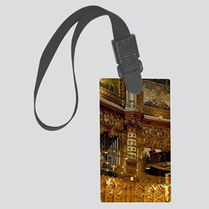 Catalunya. Benedictine monastery Large Luggage Tag