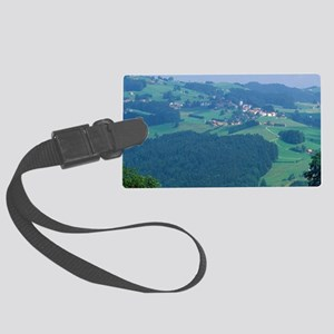 The village of Speicher, Switzer Large Luggage Tag