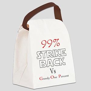 strike back b Canvas Lunch Bag