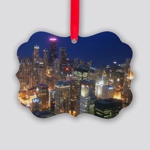 Sears Tower View Picture Ornament