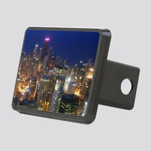 Sears Tower View Rectangular Hitch Cover