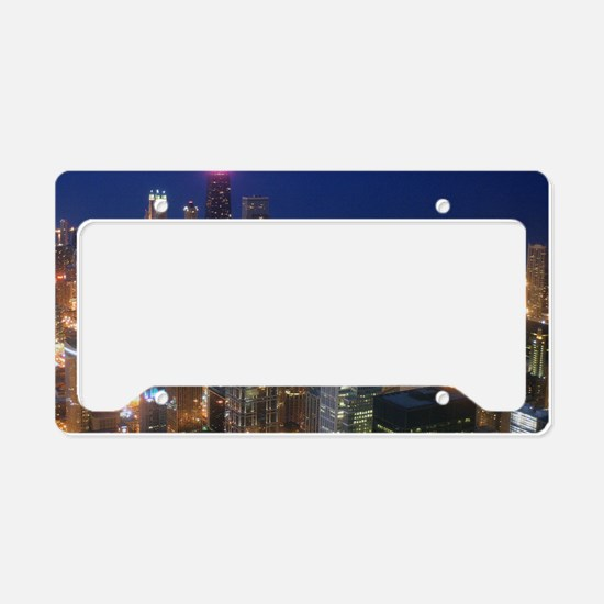 Sears Tower View License Plate Holder