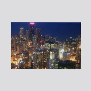 Sears Tower View Rectangle Magnet