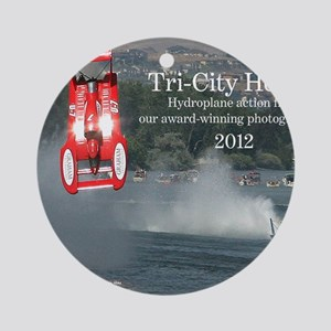 CoverHydrosW Round Ornament