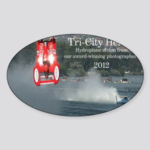 CoverHydrosW Sticker (Oval)