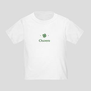 """""""Shamrock - Owen"""" Toddler T-Shirt"""