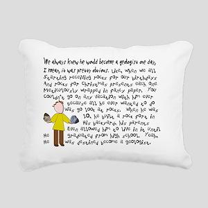 Geologist 1 story art Rectangular Canvas Pillow