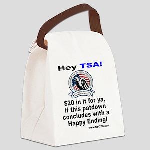 happyending Canvas Lunch Bag