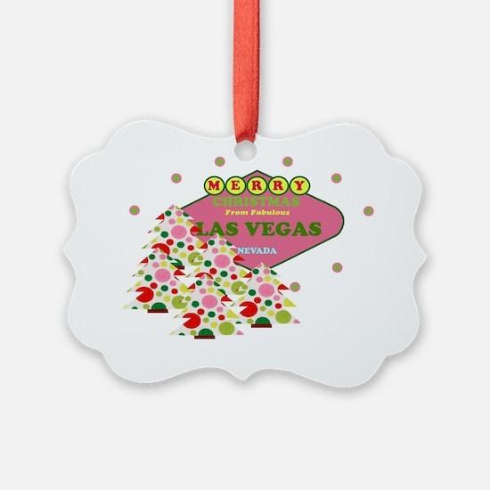 Las Vegas Christmas Stocking Ornament