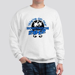 HONEYMOON2012BLACKBLUE Sweatshirt
