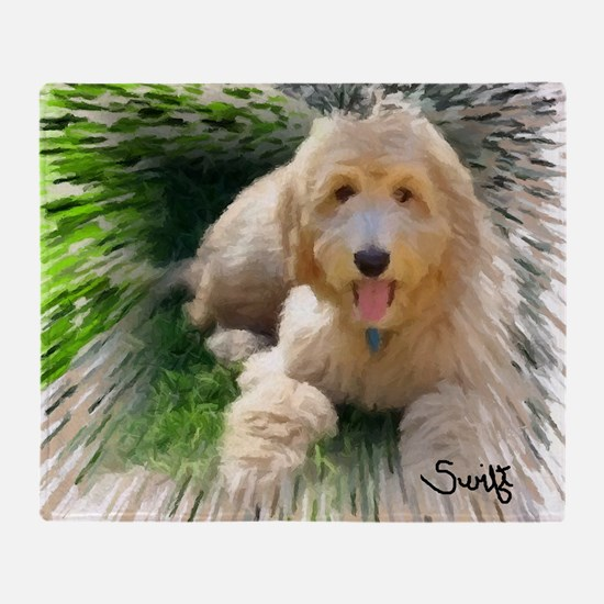 Goldendoodle Throw Blanket