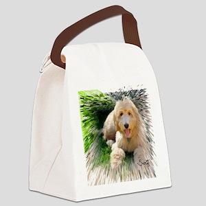 Goldendoodle Canvas Lunch Bag
