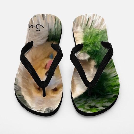 Goldendoodle Flip Flops