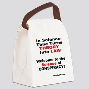 theory n law Canvas Lunch Bag