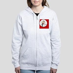 IDOBRIDEGROOm12 Women's Zip Hoodie