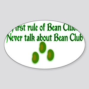 Bean Club Sticker (Oval)