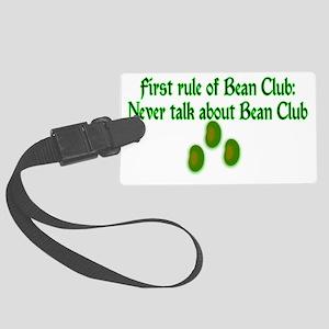 Bean Club Large Luggage Tag