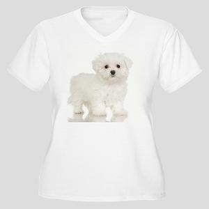 jigsaw005 Women's Plus Size V-Neck T-Shirt