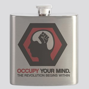 Occupy Your Mind Flask