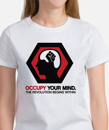 Occupy Your Mind Women's T-Shirt