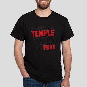 templepray copy Dark T-Shirt