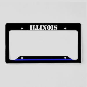 Ilinois Police License Plate Holder