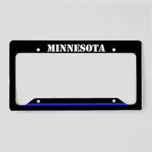 Minnesota Police License Plate Holder