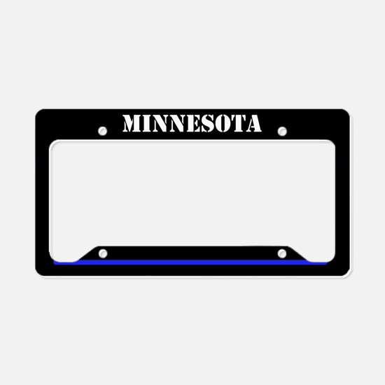 Minnesota Police License Plate Holder