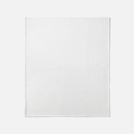 Linux Tux Grunge Throw Blanket