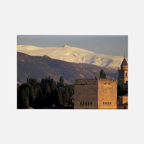 Europe, Spain, Granada, Andalusia Rectangle Magnet
