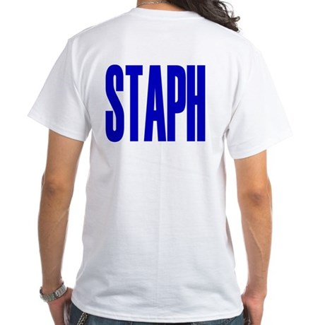 STAPH T-shirt (white)