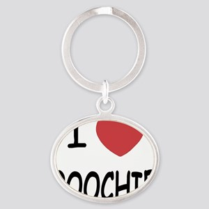 POOCHIE Oval Keychain