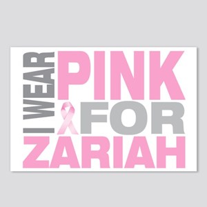 I-wear-pink-for-ZARIAH Postcards (Package of 8)