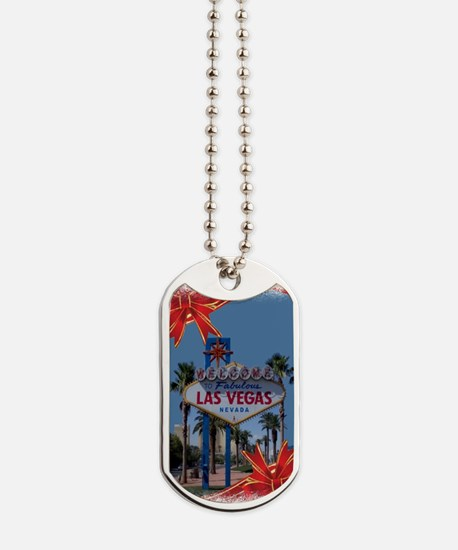Las Vegas Christmas Dog Tags