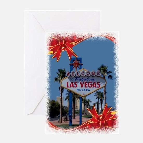 Las Vegas Christmas Greeting Card