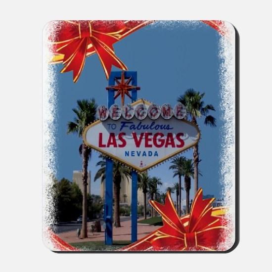 Las Vegas Christmas Mousepad