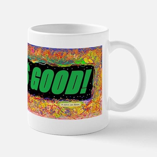 Greed is Good Bumper Sticker Mug