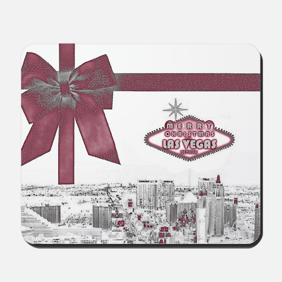 Las Vegas Christmas Stocking Mousepad