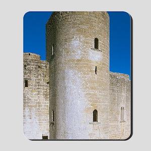 Bellver castle. Gothic style building da Mousepad
