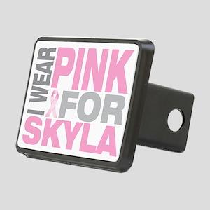 I-wear-pink-for-SKYLA Rectangular Hitch Cover