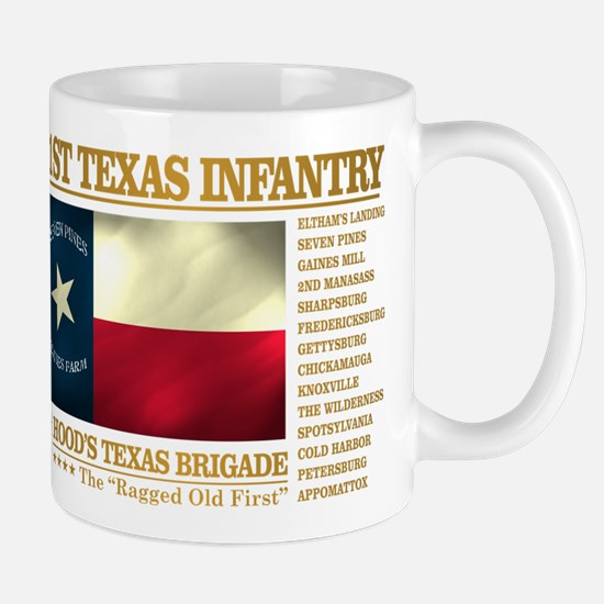 1st Texas Infantry (BH2) Mugs
