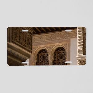 Alhambra, Granada, Andalusi Aluminum License Plate