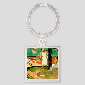 Gauguin Square Keychain