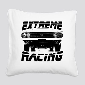 extremeracingchallenger Square Canvas Pillow