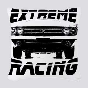 extremeracingchallenger Woven Throw Pillow