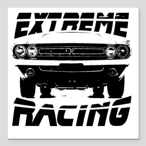 """extremeracingchallenger Square Car Magnet 3"""" x 3"""""""