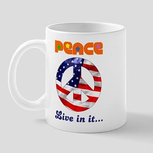 Live in Peace wear Mug