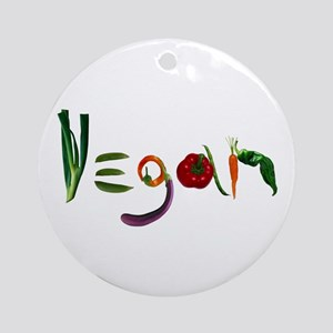Vegan Ornament (Round)